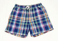 New Polo Ralph Lauren RL Blue Surf Swim Trunks Shorts Mens Large