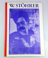 WALTER STÖHRER Malerei, Gouachen Edition Ausstellung 1977 Galerie Lutz Stuttgart