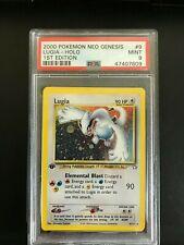 Pokemon Neo Genesis PSA 9 MINT 1st Edition HOLO Lugia #9