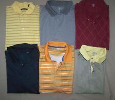 Lot of 6 Mens XXL and XXXL Polo Golf Shirts 2X 3X