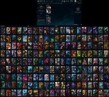 S1 LoL account with ALL RARE SKINS(PAX TF/SIVIR/JAX, BLACK ALISTAR, KING RAMMUS)