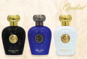 Opulent Blue Oud Musk Fragrance By Lattafa EDP 100ml Unisex Perfume Spray Gift
