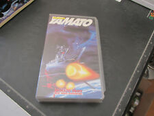 VHS film Addio YAMATO new Wave animation