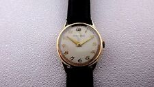 Vintage Movado 14k yellow gold watch manual windup movement