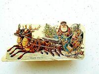 Merrimack Publ.Santa Claus Christmas Gift Box 1986