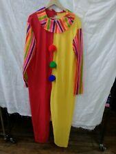 Clown Costume Adult Halloween hat an wig