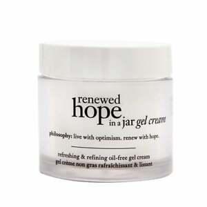PHILOSOPHY RENEWED HOPE IN A JAR REFRESHING GEL CREAM 60ML - NEW & BOXED - UK