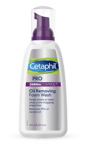 Cetaphil Pro Derma Control Oil Removing Foam Wash 8oz