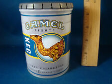 VINTAGE CAMEL CIGARETTE PROMOTIONAL COLLECTIBLE ROUND TIN EMPTY @2
