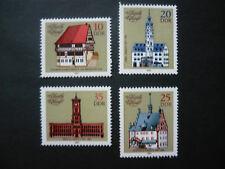 DDR 1983 -  Michel Nr, 2775-2778 , postfrisch, Historische Rathäuser (205)