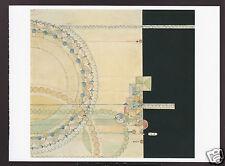 FRANK LLOYD WRIGHT Jewelry Shop Window DECORATIVE DESIGNS POSTCARD