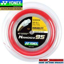 YONEX NANOGY 95 200M COIL BADMINTON RACKET STRING RED COLOUR
