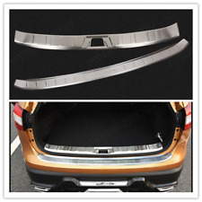 FIT For NISSAN QASHQAI  2016 REAR BUMPER PROTECTOR BOOT CARGO SILL PLATE LIP