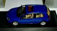 car 1/43 SCHUCO 1K0099300AL5J VOLKSWAGEN GOLF V 2doors 2003 BLUE NEW BOX