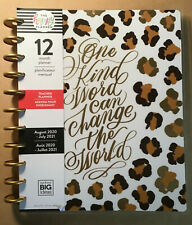 "NEW! 2020-2021 me & my BIG ideas The happy Planner BIG TEACHER ""LEOPARD"" Planner"
