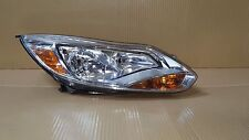 OEM Ford Focus 2012-2014 Passenger RH Side Headlight Metalized Version