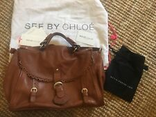 Authentic See By Chloe Leather Handbag