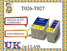 4 Cartucho de tinta para Epson Stylus Photo 810/812/820/830/830U/925/930 Originales