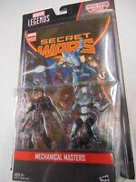 MARVEL LEGENDS SERIES SECRET WARS MECHANICAL MASTERS NEW !!!! GM1056