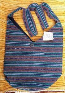 Maya Traditions Guatamalan Crossbody Bag FairTrade Hand Woven Festival/Boho/trad