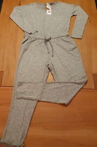 Damen Overall Jumpsuit Onesie grau Freizeit Blue Motion Gr. 36/38 - S  neu