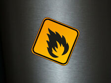 1 x adhesivo cárnica 003 radiactivo Radioactive Biohazard sticker Shocker