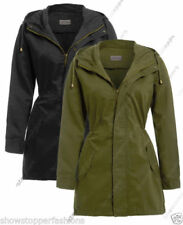 Cappotti e giacche da donna beige con bottone automatico, taglia 42