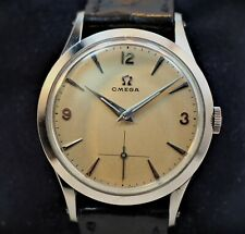 Omega Seamaster steel CK2750-1 Manual wind with beautiful Org dial _Exc+++