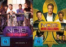 12 DVDs * NAVY CIS / NCIS NEW ORLEANS - STAFFEL 1+2 IM SET # NEU OVP +
