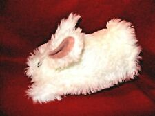 White Plush BUNNY RABBIT PUPPET Hand Glove style for small hands