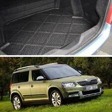 Rear Car Boot Cargo Trunk Mat Tray Floor Mat Fit for Skoda Yeti 2014-2015