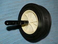 "Classic Ab Dual Wheel Exercise Ab Wheel Abdominal Exercisers 8"" High Wheel"