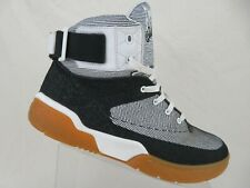 PATRICK EWING ATHLETICS 33 Hi White/Black/Gum Sz 13 Men Basketball Shoes