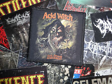 Acid Witch Patch Psychedelic Doom/stoner death metal hooded Menace Asphyx