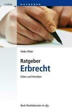Ratgeber Erbrecht | Erben und vererben | Heiko Ritter | Taschenbuch | Deutsch