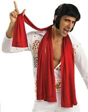 Elvis Presley Scarf Set of 3 Scarves Red 70s Las Vegas Halloween Costume Prop