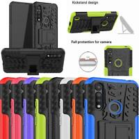For Motorola Moto G8 Case, XT2045 Slim Armour Shockproof Stand TOUGH Phone Cover