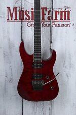 Jackson 2013 SL2Q Pro Series Soloist Electric Guitar Quilt Maple Transparent Red