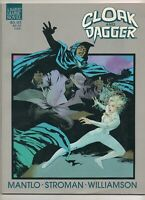 Marvel Graphic Novel #24 CLOAK and DAGGER 1988 RARE / TOUGH Book! TV Series