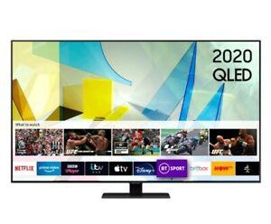 "Samsung QE85Q80T 85"" (4K) High Quality QLED Smart TV"