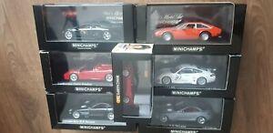 Lot x8 voitures minichamps