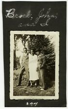 New listing Vintage Photo Group of Dressed Up Black People African American 1937
