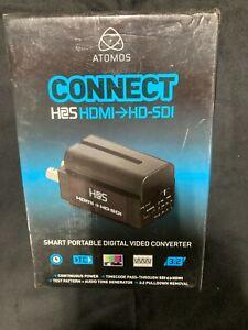 ATOMOS CONNECT H2S CONVERTER - HDMI TO SDI BATTERY-POWERED VIDEO CONVERTER