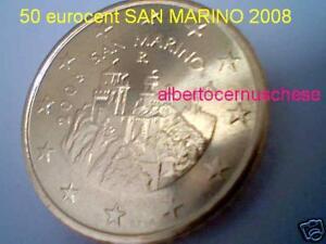 50 cent cts centesimi euro 2008 San Marino san marin saint marin Сан-Марино 圣马力诺