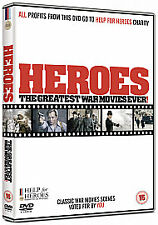 Heroes: Greatest War Movies Ever! (Help For Heroes Charity DVD), Very Good DVD,
