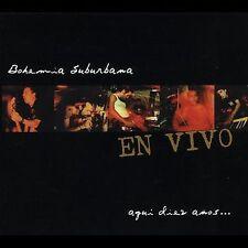 FREE US SHIP. on ANY 3+ CDs! ~LikeNew CD Bohemia Suburbana: En Vivo: Aqui Diez A
