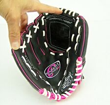 Rawlings Player Series 10.5-Inch Youth Girls Pink Baseball Softball LHT. Glove