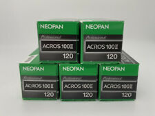 [ Newly Designed ] Black and White Fim NEOPAN ACROS 100 II 120 x 5 roll Japan