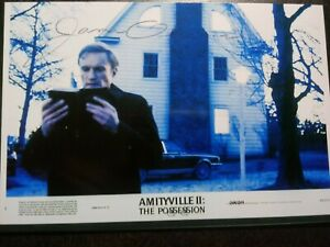 JAMES OLSON As FATHER ADAMSKY Hand Signed Autograph 4X6 Photo -  AMITYVILLE II