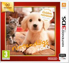 Nintendogs + Cats Golden Retriver NINTENDO 3DS Select IT IMPORT NINTENDO